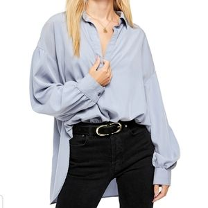 Free People Love Until Tomorrow Poet  Blouse NWT